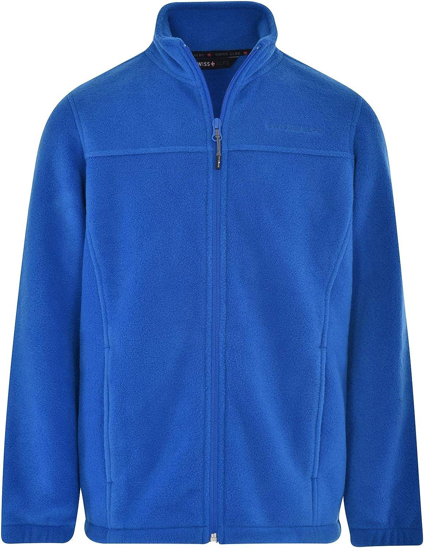 Swiss Alps Boys Full Zip Polar Jacket free shipping Sales Fleece Sweatsh Performance