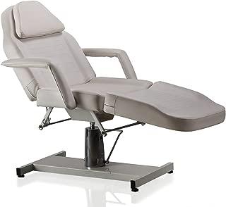 ColdBeauty Beauty Salon Equipment White Facial Massage Table Bed Chair