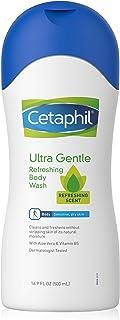 Ultra Gentle Refreshing Body Wash, Refreshing Scent, Sensitive Skin, All Skin Types, Hypoallergenic, Dermatologist Tested, 16.9 Fl Oz (Pack of 3)