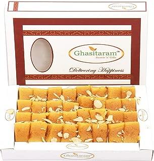 Ghasitaram Gifts Indian Sweets - Diwali Gifts Diwali Sweets - Soft Mysore Pak, 400g