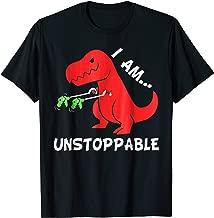 I Am Unstoppable - Funny T-rex Dinosaur Xmas T-Shirt