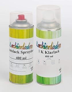 Lackierladen Autolack im Spraydosen Set 2 x 400 ml BMW 386 Farngruen Met.1998 2001