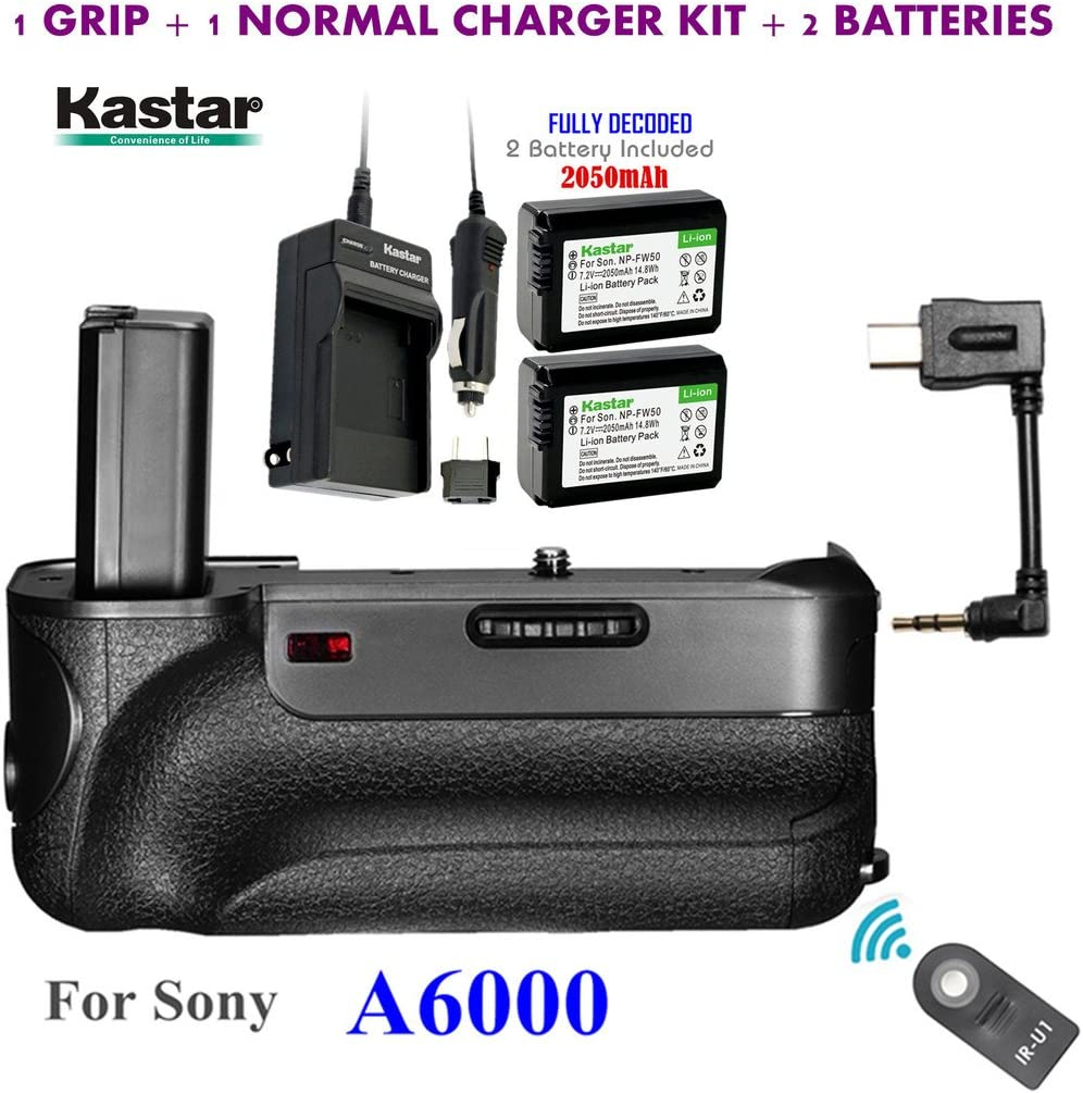 Kastar Infrared Remote Control Attention brand Pro Battery Discount mail order Built- Vertical Grip