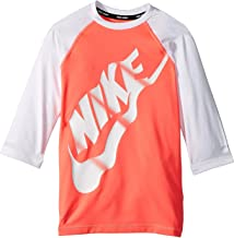 Nike Kids Girl's Logo Half Sleeve Hydroguard (Big Kids)