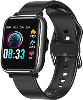 RaMokey Smartwatch, Relojes Inteligentes Mujer Hombre, Pulsera Actividad Inteligente Impermeable IP67, Reloj Fitness con P...