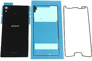 Access 修理用 <液晶パネル、背面パネル専用接着テープ付き> バックパネル バックプレート ブラック for ソニー Sony Xperia Z4 ソニー エクスペリア Z4 交換部品 互換品 SZ4S-BK