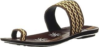 FLITE Women Brown/Beige House Slippers-3 UK/India (35.5 EU) (PUL038LBRBG0003)