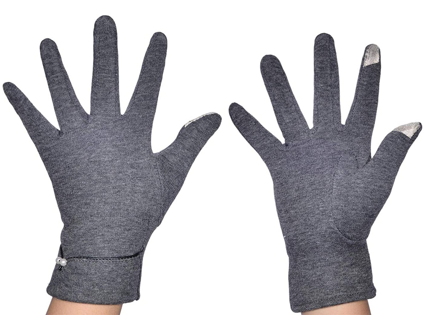 Woogwin Womens Touch Screen Warm Gloves Windproof Winter Lined Thick Gloves