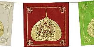 ca bunt Sieben Chakras Gebetsfahne 10,5 x 10,5 cm