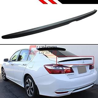 Cuztom Tuning Sport Style Flush Fit Trunk Lid Spoiler Wing for 2013-2017 Honda Accord 4 Door Sedan