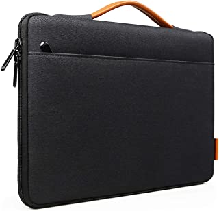 Inateck Microsoft Surface Pro X/7/6/5/4/3 Laptop Sleeve Carrying Case Briefcase Tablet Bag with Handle - Black