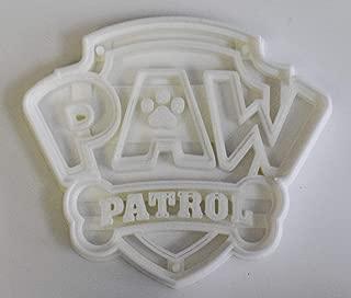 PAW PATROL LOGO KIDS TV SHOW RESCUE DOGS HEROIC PUPS COOKIE CUTTER FONDANT BAKING TOOL 3D PRINTED USA PR789