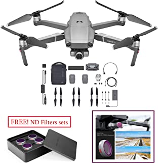 DJI MAVIC 2 ZOOM 4K 24-48MM OPTICAL ZOOM RC DRONE WITH FLYMORE KIT AND PGYTECH ND-PL FILTERS SET