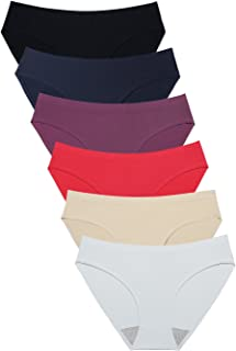 Wealurre Breathable Underwear Women Seamless Bikini Nylon Spandex Mesh Panties