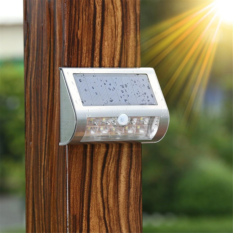 StiefelU LED Wandleuchte nach oben und unten Wandleuchten Solar Wandleuchte Outdoor Patio lights der menschlichen Wahrnehmung LED auen ultra-light Solar Home Licht () 120  85  38 mm)