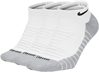 Nike Everyday Max Cushioned Training No-Show Socks 3 Pairs