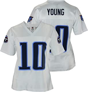 Reebok Assorted Womens Tennessee Titans Vince Young #10 Dazzle Jersey