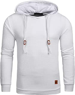 white quilted hoodie
