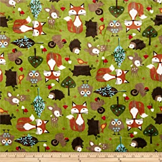 woodland tails fabric