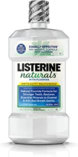 mouthwash without artificial sweeteners