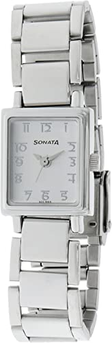 Sonata Wedding Analog White Dial Women's Watch -NM8080SM02 / NL8080SM02