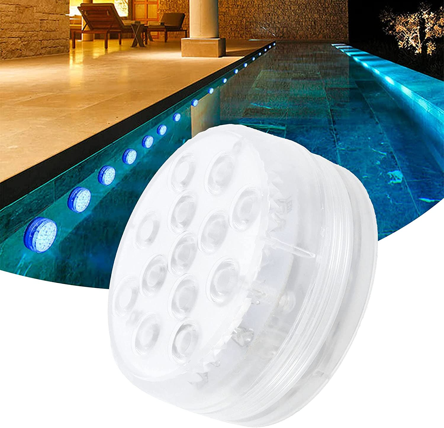 LED Pool Lights with 40% OFF Cheap Sale Remote Colors IP68 Light Sales results No. 1 Magnetic 16