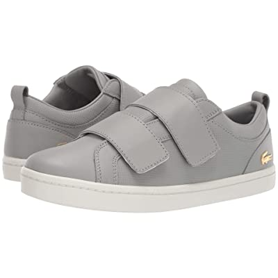 Lacoste Straightset Strap 119 1 (Grey/Off-White) Women