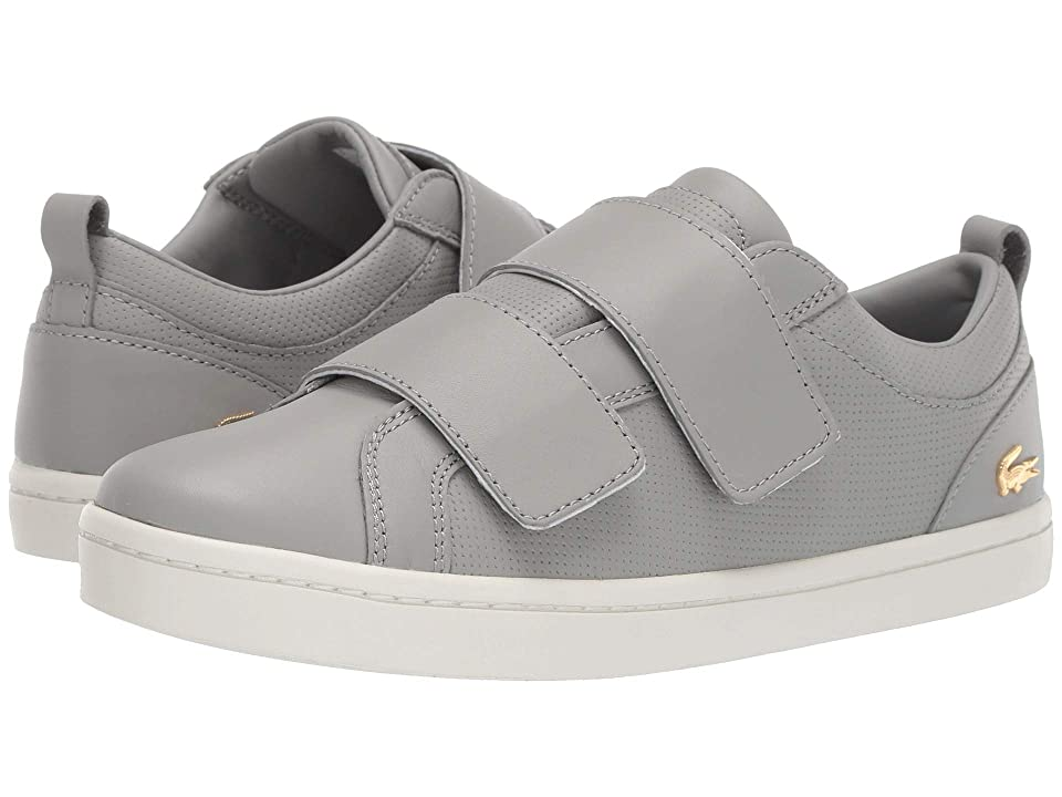 Lacoste Straightset Strap 119 1 (Grey/Off-White) Women