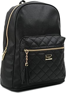 Women's Simple Design Modern Cute Fashion small Casual Backpacks Black