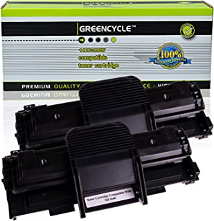 GREENCYCLE High-Yield Compatible for Samsung ML-1640 ML1640 Toner Cartridge Replacement for ML-1640 ML-2240 Series Printers, Page Yield Up to 3000 Pages (Black, 2 Pack)