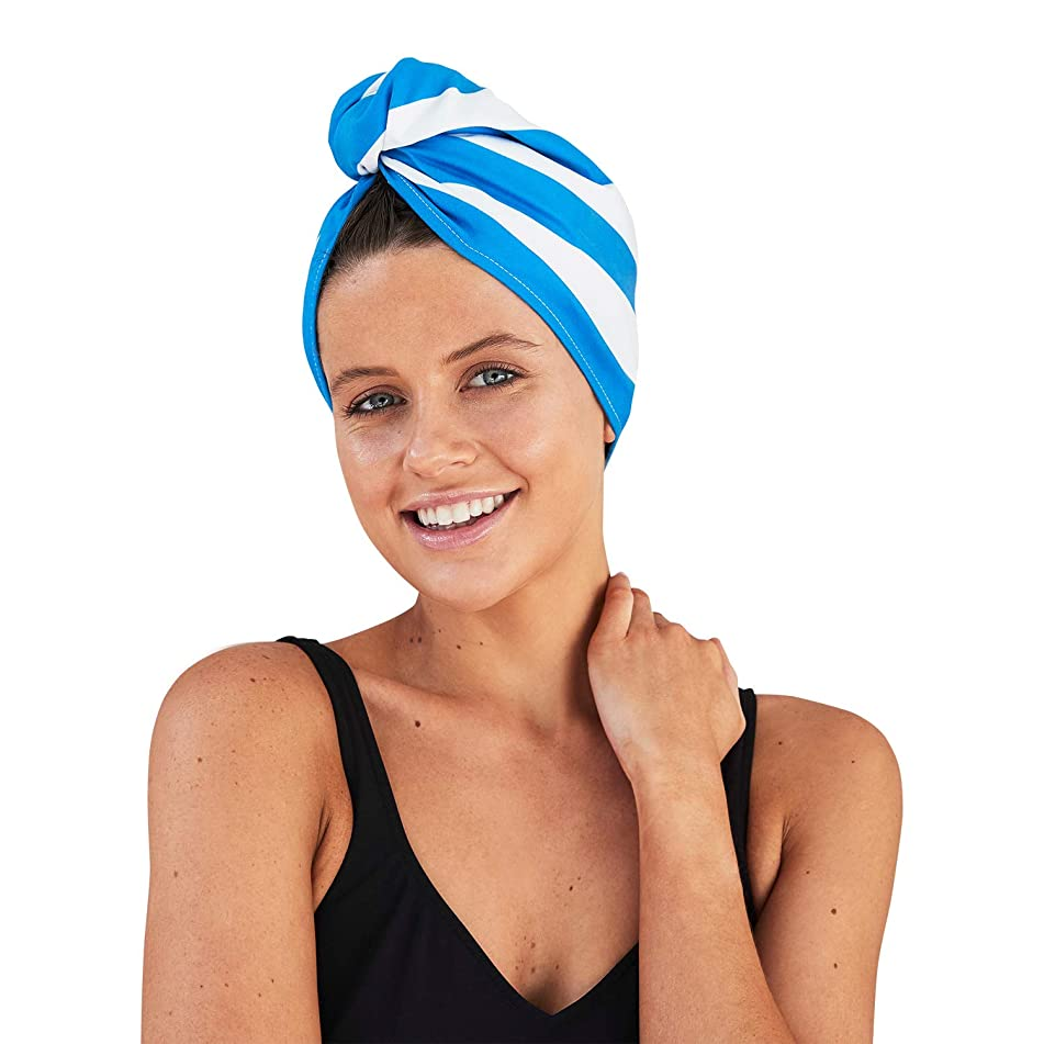 Dock & Bay Hair Wrap Towel Beach Turban - Quick Dry, Compact, Lightweight - Hair Drying Towel for Women, Curly Hair Towel