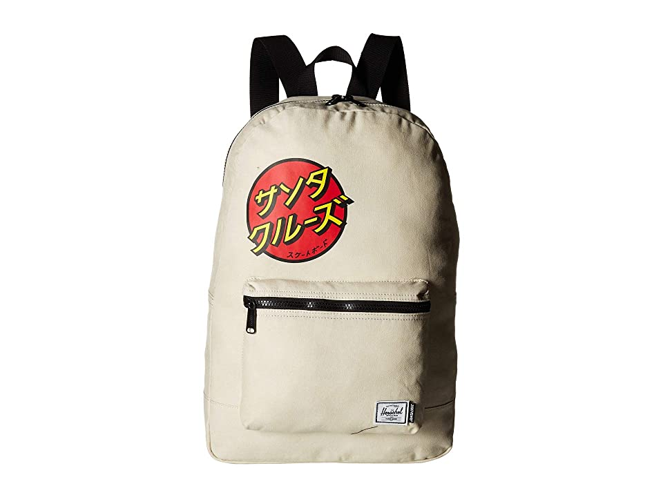 Herschel Supply Co. Packable Daypack (Japanese/Natural) Backpack Bags