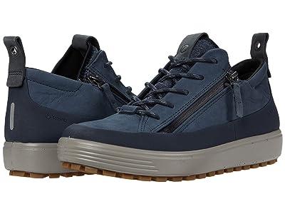 ECCO Soft 7 Tred Zip GORE-TEX(r) Sneaker (Marine) Women