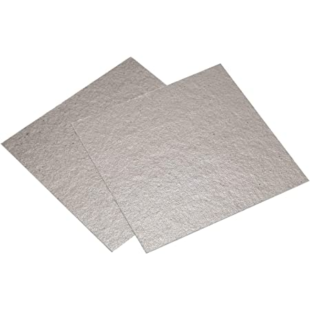 SODIAL(R) Four Micro-Ondes Mica Plaques 2 * Remplacement 12 x 12cm Mica Plaques pour Four a Micro-Ondes