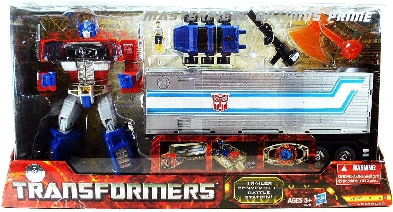 ahorra hasta un 30-50% de descuento Transformers Transformers Transformers Masterpiece Optimus Prime Acción Figura  ventas calientes