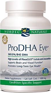 Nordic Naturals 挪帝克 ProDHA Eye * - 富含 DHA,浓缩Omega-3,含有 FloraGLO 叶黄素和玉米黄质。 120 120.00