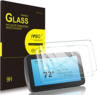 IVSO Echo Show 5 ガラスフィルム 【2枚セット】 5.5インチ スピーカー エコーショー5 保護フィルム 飛散防止処理 日本旭硝子製 耐衝撃 気泡ゼロ 9H硬度 高透過率 画面保護 Amazon Echo Show(5nd) ガラスフィルム