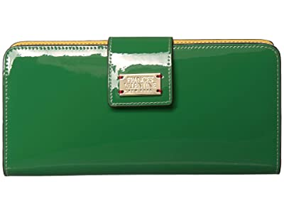Frances Valentine Jefferson Wallet (Green) Bi-fold Wallet