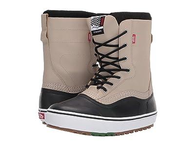 Vans Standardtm Snow Boot ((Jake Kuzyk) Black/Khaki) Men