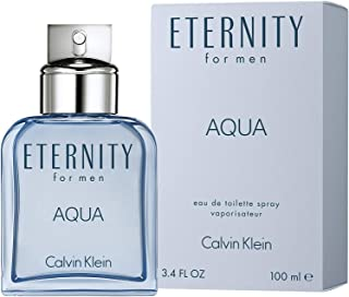 Calvin Klein Eternity Aqua Eau de Toilette for Men, 100 ml