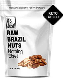 It's Just - Raw Brazil Nut (32oz / 2 Pounds), No PPO, Unsalted, Large Premium