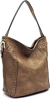 Handbag Republic Perforated Classic Vegan Leather Hobo
