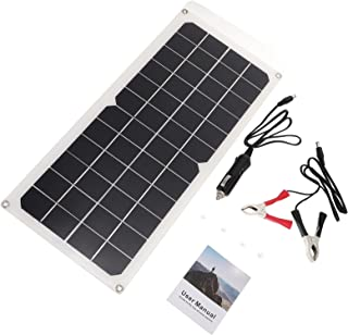 Generic 1 Set Solar Power Panel Portable Solar Plate Kit Emergency Charger with Controller Foldable Portable Solar Phone C...