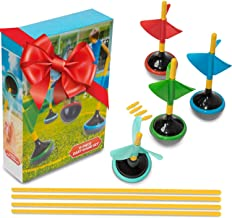 Perfect Life Ideas Lawn Darts Yard Games for Adults and Family - 6 Pcs Boxed Set Jarts as Lawn Backyard Beach - Indoor Out...