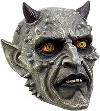 Ebros Gift Horned Demon Satanic Skull Figurine 6.75