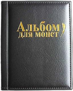 VORCOOL Album Monedas Coleccion 250 Bolsillos (Negro)