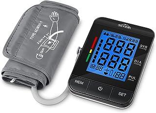 SIMBR Tensiómetro de Brazo Digital con Detección de Arrítmia y Pantalla LCD Retroilumina y Memoria (