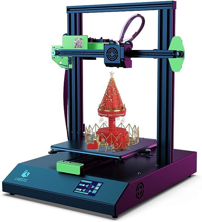 Stampante 3d, stampante con schermo a colore smart touch labists DE-3D-1