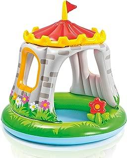 Pool Kinder Baby Aufstellpool Planschbecken Schwimmbecken aufblasbar mit aufblasbarem Sonnendach Dach Sonnenschutz Oval Wal f/ür Garten Terrasse Kinder ab 2 Jahre Gr/ö/ße 211 x 185 cm