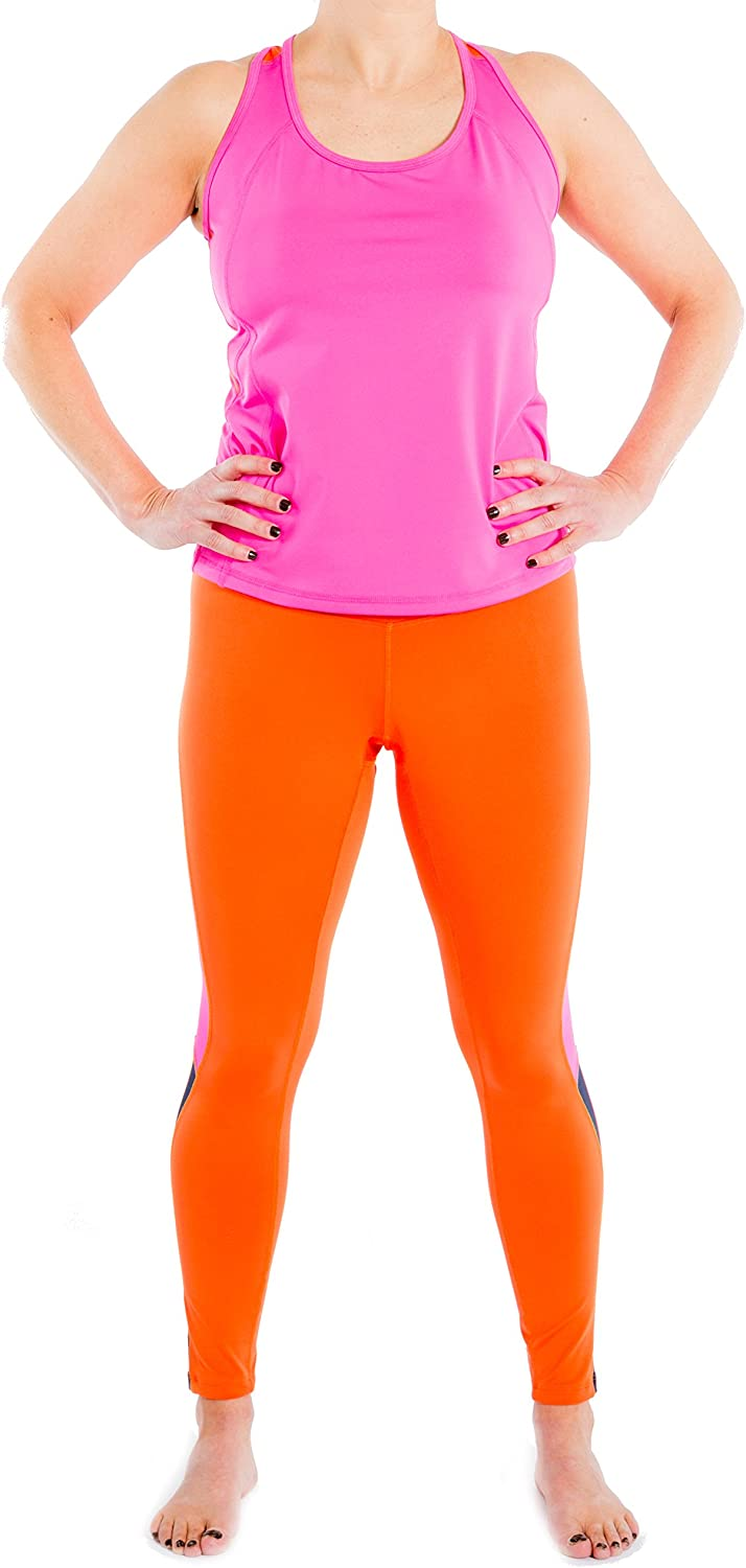 Racerback Workout Top For Women-Plus Sizes too-seen on The Biggest Loser (Pink)